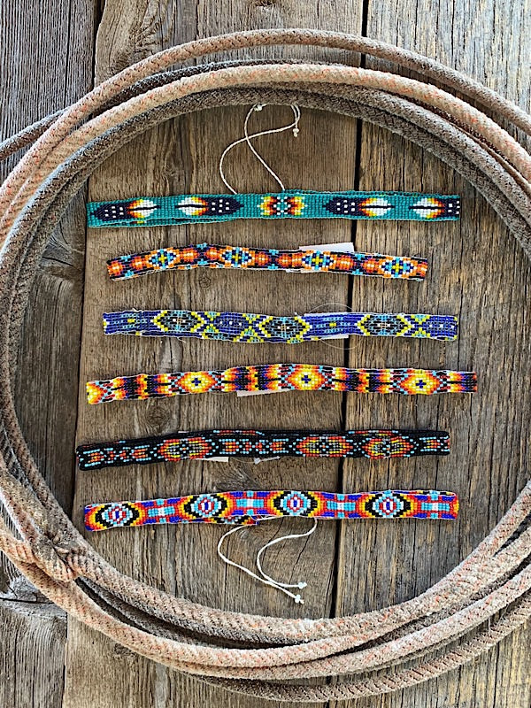 Hat Personalization: Beaded Bands