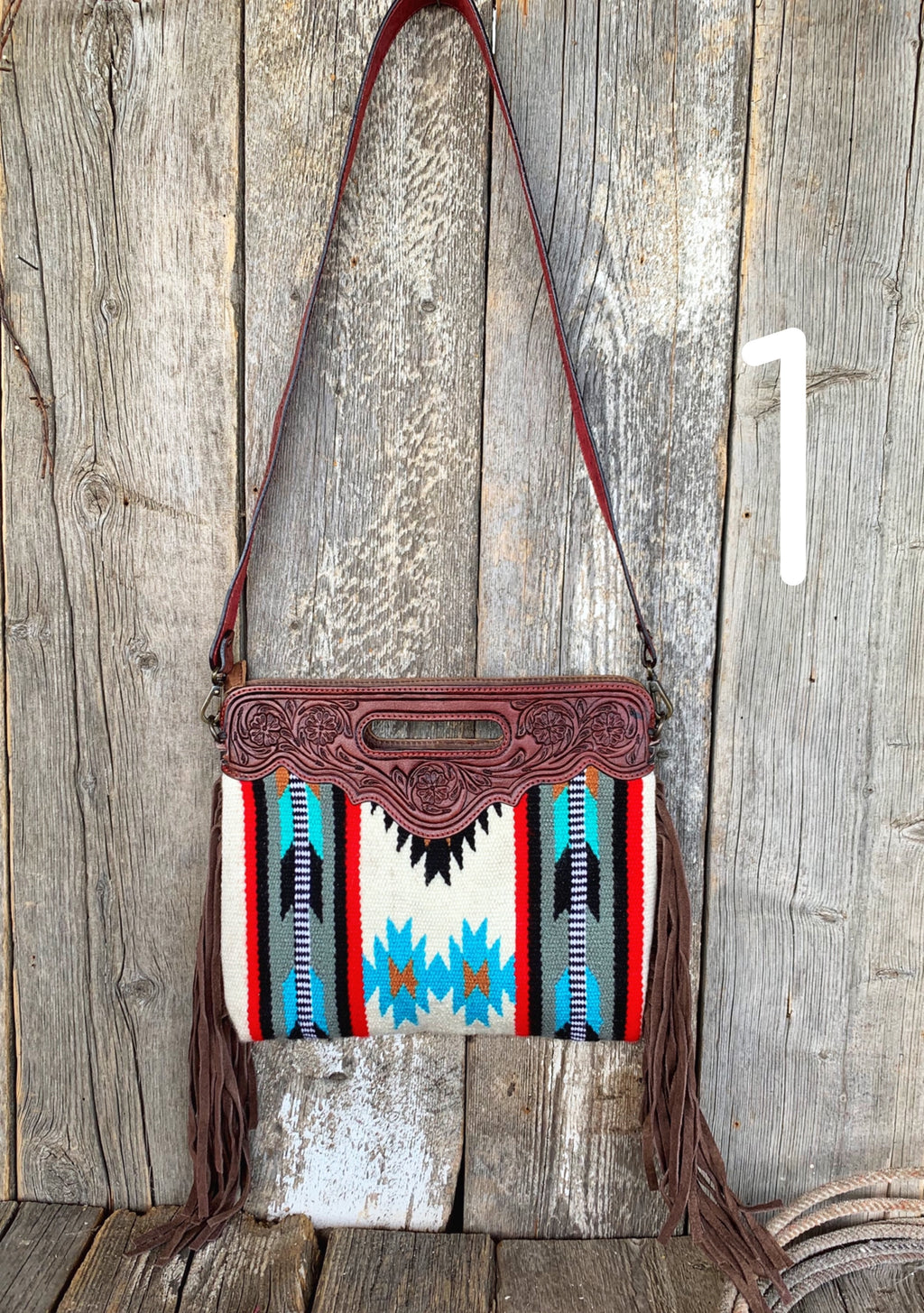 The Round Up: Saddle Blanket Purse