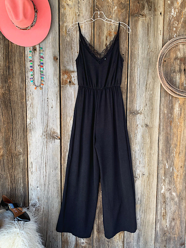 The Mirage: Black Jumpsuit