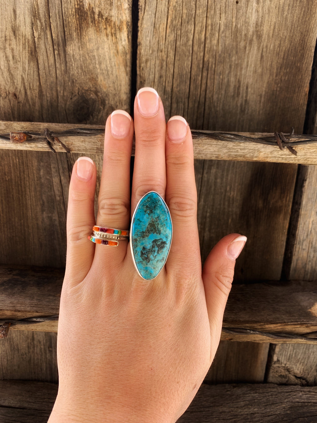 The Brooks: Turquoise Ring
