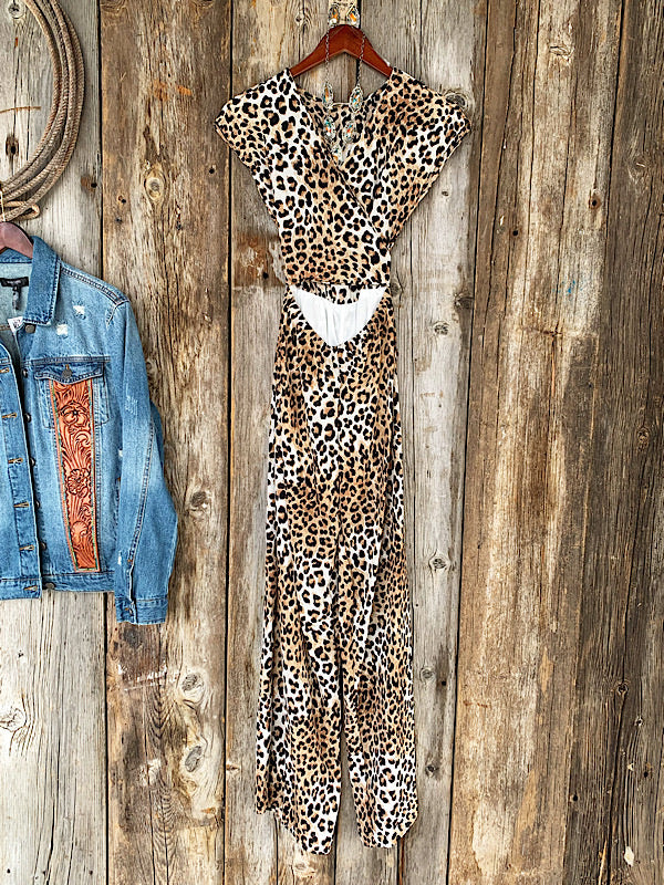 The Wild Card: Leopard Jumpsuit