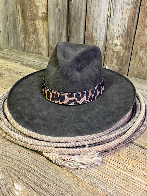 Leopard Hat Band