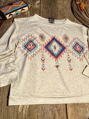 The Senora: Aztec Pullover