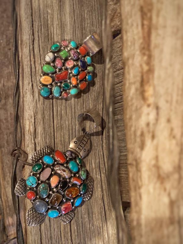 Multi Colored Pendant