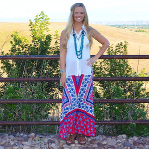 Next To You: Maxi Skirt
