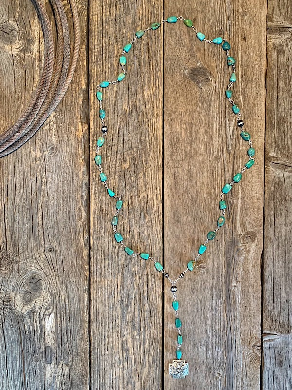The Winding Creek: Turquoise Rosary