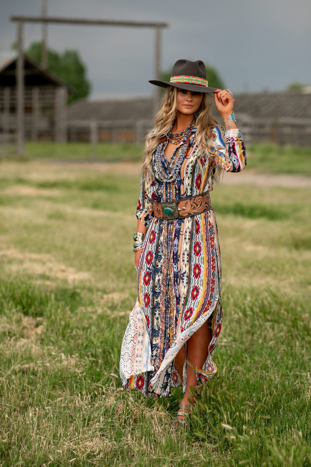 The Deadwood: Maxi Dress