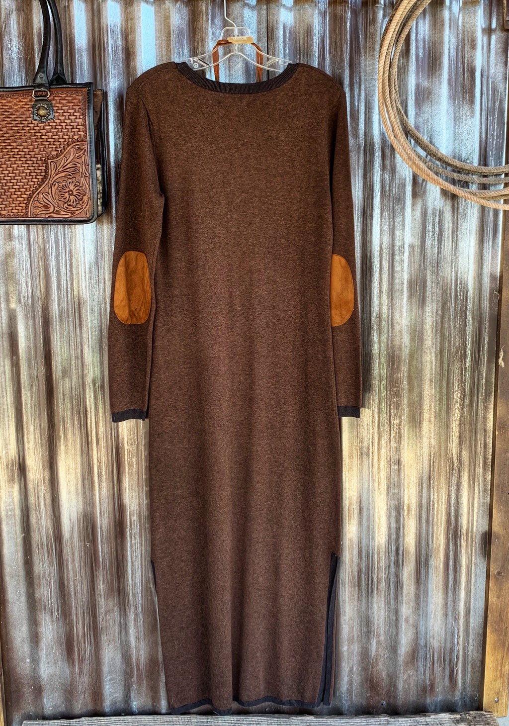 The Barret: Chocolate Dress
