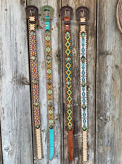 Rhinestone Cowgirl: Beaded Belts
