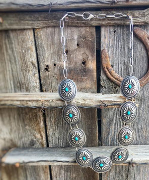 Way Out West: Concho Necklace