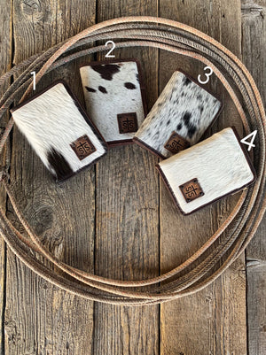 The Buckskin: Cowhide Magnetic Wallet