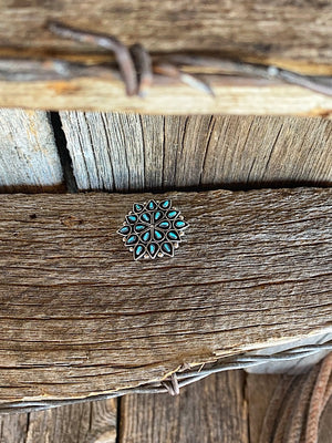 Pinned on You: Turquoise Pin