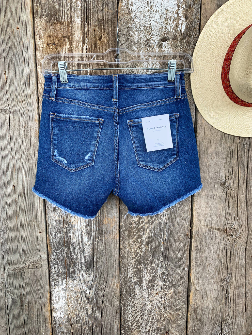 The County Fair: Denim Shorts