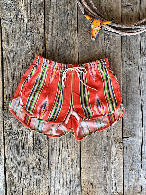 The Maya: Serape Shorts