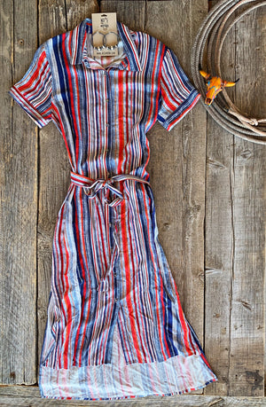 The American Girl: Striped Dress