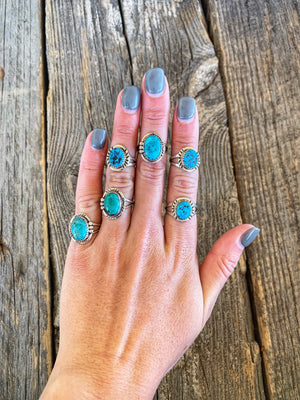 Fancy Free: Turquoise Rings