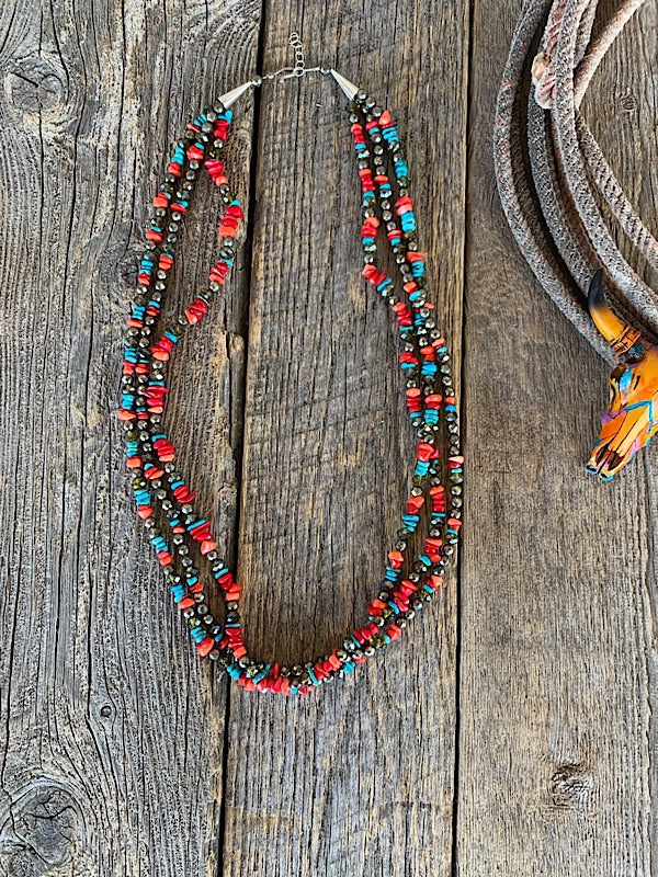 The Tombstone: Serape Necklace