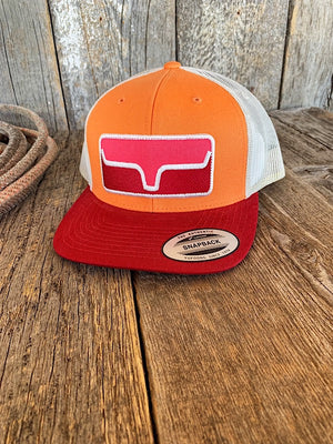 Blocked Patch Trucker: Pink