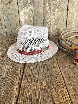 The Kinsley: Straw Fedora