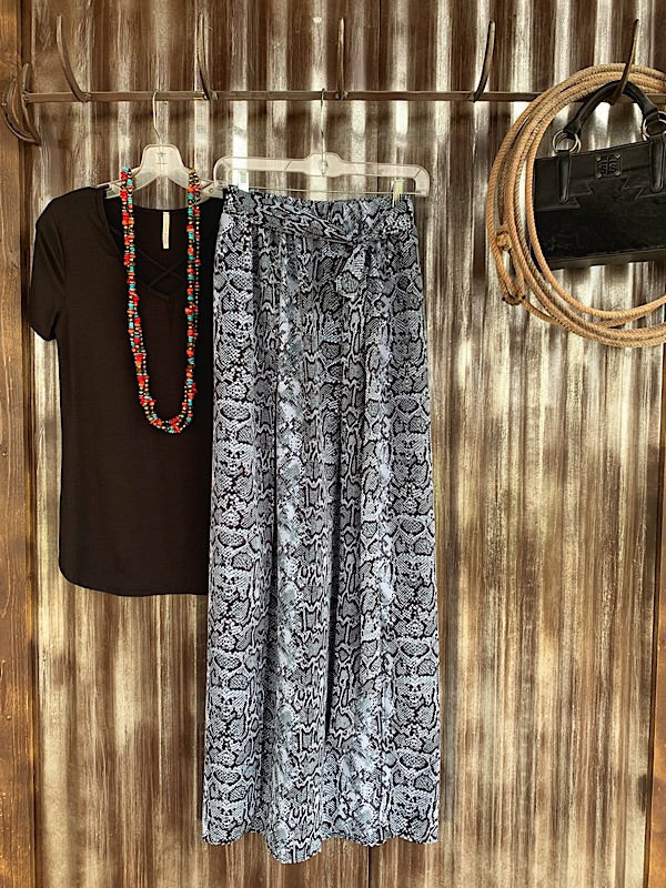 The Bruneau: Maxi Skirt