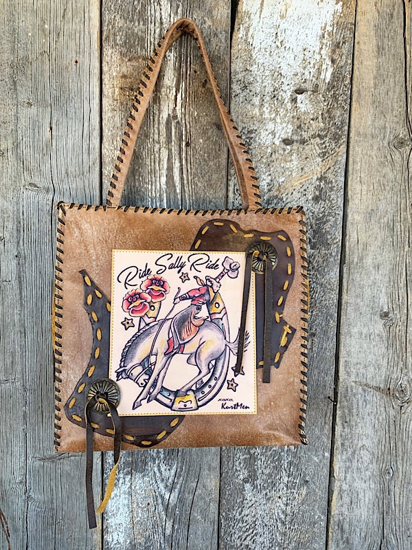 Ride Sally, Ride: Tote