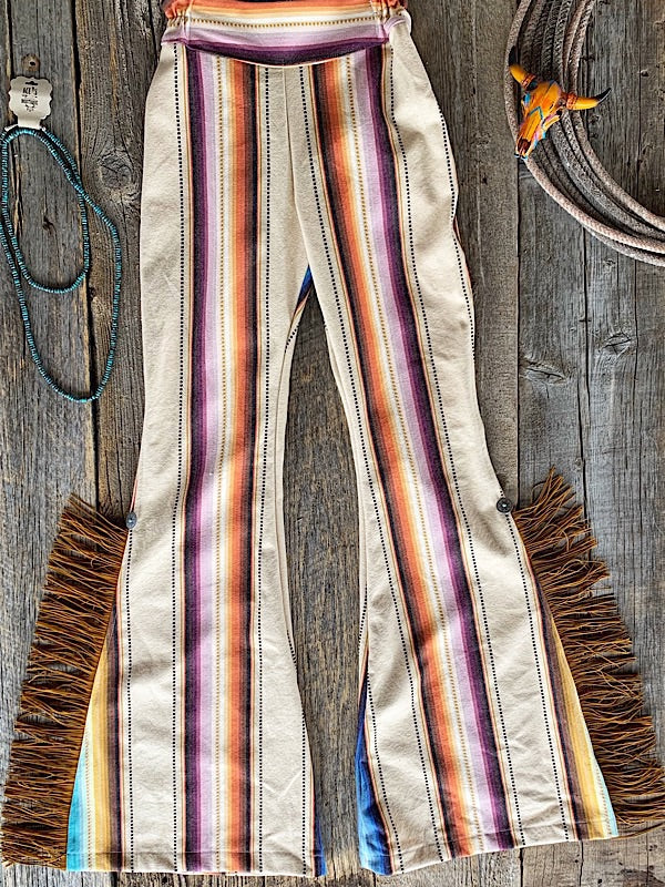 Heartbreak Proof: Bell Bottoms W/ Fringe