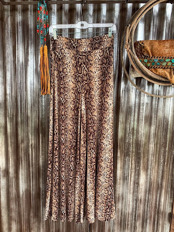 The Rattler: Wide Leg Pants
