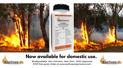 BlazeTamer380 now available for domestic use in Australia. Stop fires quick.
