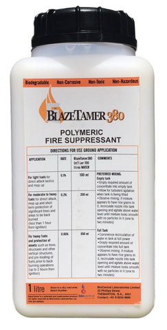 BlazeTamer380 Water Enhancer for Fire Fighting
