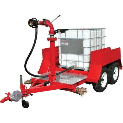 Add BlazeTamer380 to 1000 litre shuttle for fire fighting
