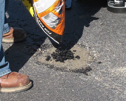 Asphalt compaction is easy with QPR bitumen