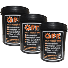 DIY road and pathway repairs with QPR cold mix asphalt