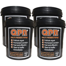 QPR easy to use for asphalt patching in poor weather conditions