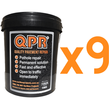 15Kg Pail QPR Quality Pavement Repair | Cold Asphalt Easy to handle.