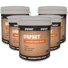 GRIPSET C26 CONCRETE CRACK FILLER 15 LITRE PAIL $985.00 ASPHALT CRACKS, bitumen, BROKEN CONCRETE, COLD CRACK SEAL PRODUCTS, COLD CRACK SEALER, concrete, CONCRETE CRACK FILLER, concrete crack sealant QPR | Earthco Projects Store., CONCRETE DRAIN CRACKS, CONCRETE GAP FILLER, CONCRETE PATH CRACKS, concrete repair, concrete steps, crack, crack filler, crack repairs, CRACKED CONCRETE, cracking, DIY repairs, Driveway repair, Earthco Projects, floor cracks, footpath repair, GRIPSET, GRIPSET CRACK FILLER CONCRETE, GRIPSET CRACK SEALER TAPE, GRIPSET PAVEMENT Asphalt Repair Product Earthco Projects Store Quantity 5 Pails  Earthco Projects Store