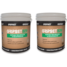 GRIPSET B09 ASPHALT REJUVENATOR 15 LITRE PAIL GPP006 $310.42 asphalt, ASPHALT CONTRACTORS, Asphalt repairs, Asphalt Sealer, asphalt suppliers, asphalt suppliers Melbourne, Asphalt suppliers sydney, bitumen, bitumen emulsion, bitumen repair, bitumen repair products, BITUMEN REPAIRS, Bitumen Surfacing, Blacktop repairs, bunnings, Car park asphalt repairs, concrete, concrete crack sealant QPR | Earthco Projects Store., concrete repair, crack filler, crack repair, crack repairs, crack sealant, crack sealing, cracks, DIY, DIY ASPHALT, DIY repair, Driveway repa Asphalt Repair Product Earthco Projects Store Quantity 2  Earthco Projects Store