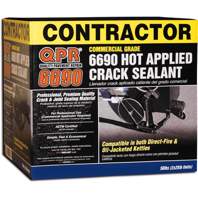 QPR 6690 Crack repair solution for Asphalt | Concrete Best Quality.