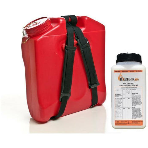 Rega 16LT Firefighting Knapsack + BLAZETAMER380™ Water Enhancer 1LT Pack,Earthco Projects Store