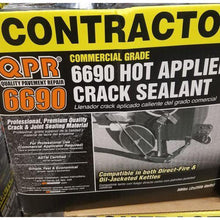 QPR Crack sealant for Asphalt or Concrete | Buy Online | Earthco Projects.