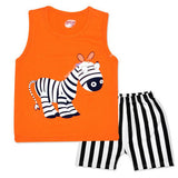 Cartoon Summer Baby Boy Clothing Set