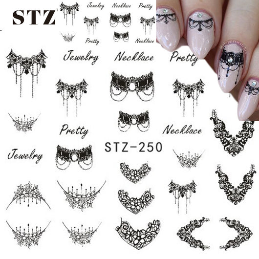 Jewelry Design Sticker For Nail Art