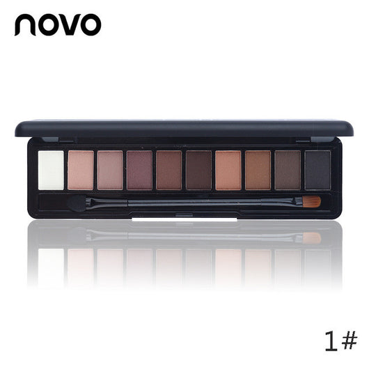 NOVO 10 Colors Makeup Palette