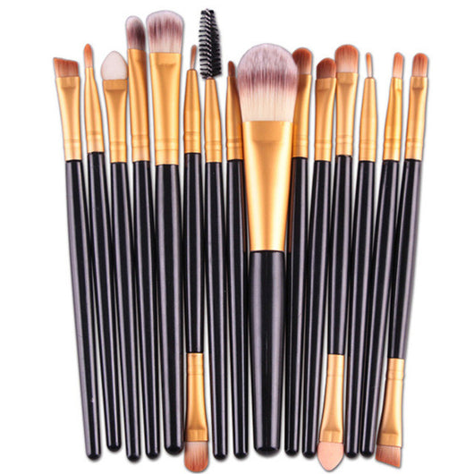 Professional 15 PCS Brushes Set