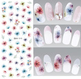 Fantacy Flowers Nail Stickers