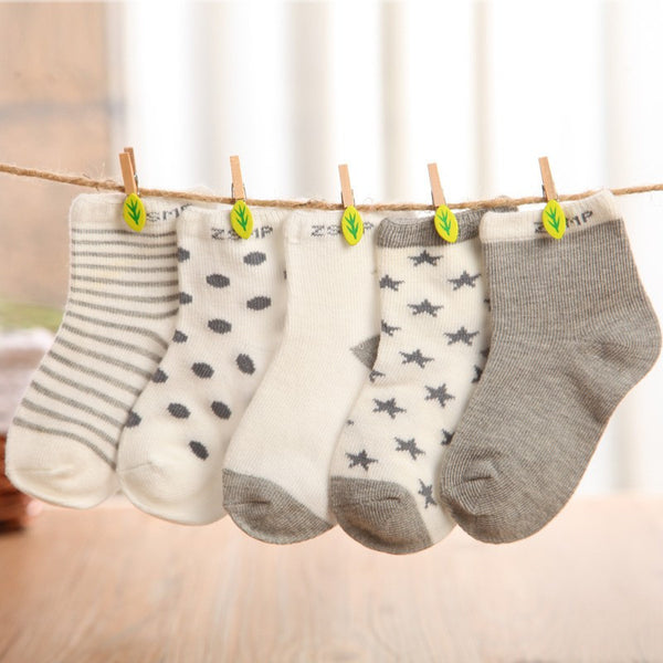 10 pieces/lot=5pair Cotton Baby Socks