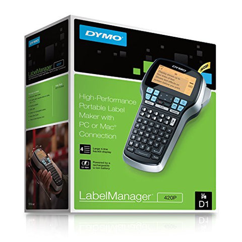 Dymo 420P LabelManager Label Maker Printer Bundle