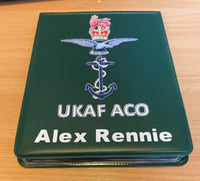 UKAF ACO Cricket Umpire Onfield Hard Back Multi Match Card Holder with 20 Internal Pockets