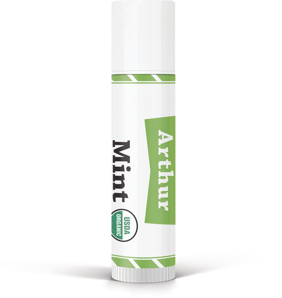 Arthur Men's Mint Jumbo Organic Lip Balm