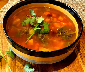 What about a really nice warming healthy soup?