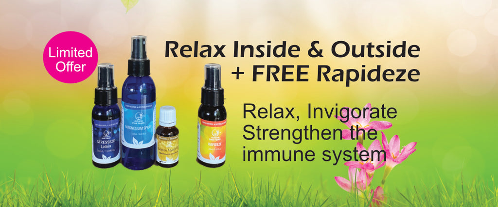 Relax Inside & Out Special Pack + Free Rapideze 50ml  (while stock lasts)